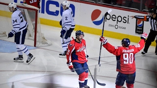Maple Leafs face elimination after falling to Capitals in overtime