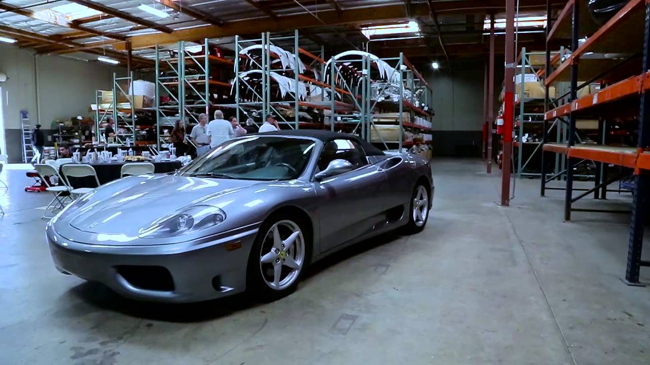 Ferrari Club of America visits Exotic Auto Recycling