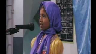 "Hadhrat Muhammad (saw) Love with Children ""Waqf-e-Nou Ijtema Chennai-2012"""
