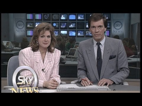 Watch the first EVER 22 Minutes of Sky News - 25 Years Of Sky News