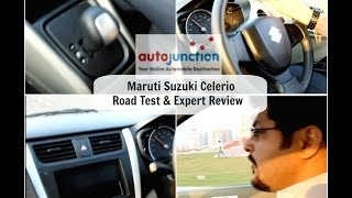 Maruti Suzuki Celerio - Road Test & Expert Review