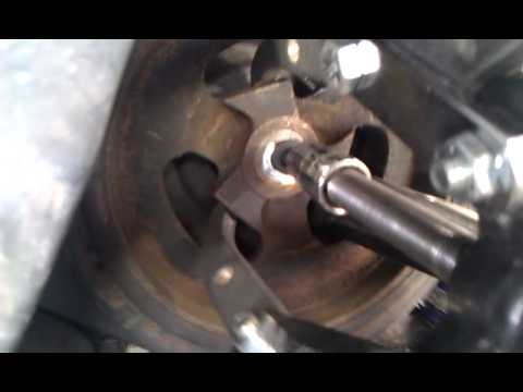 Crankshaft Pulley Or Harmonic Balancer How To Youtube