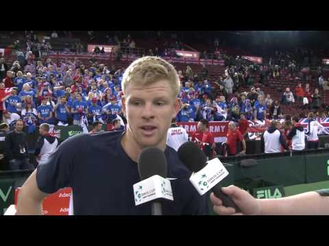 Interview: Kyle Edmund (GBR)