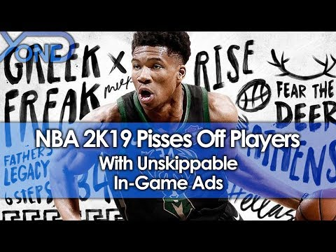 NBA 2K19 Pisses Off Players With Unskippable In-Game Ads thumbnail