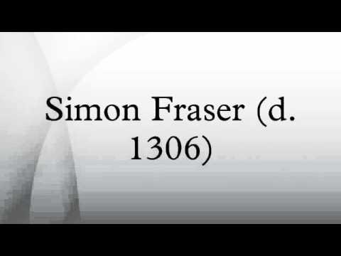 Simon Fraser (d. 1306)