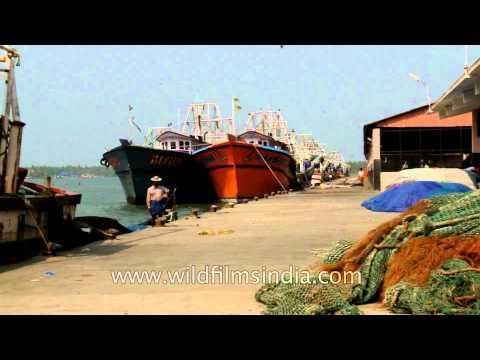 Munambam harbour, Vypeen Island