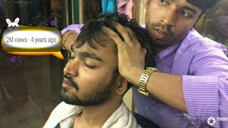 Best Indian Head Massage - Scalp and Upper Body Massage by Sunil | Episode- 1| ASMR | 100th Upload