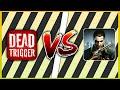 Dead Trigger Vs Death Invasion Survivol  Ultra High  Graphics Gameplay Comparison Android 2018