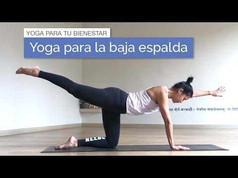 Yoga para el dolor en la espalda baja