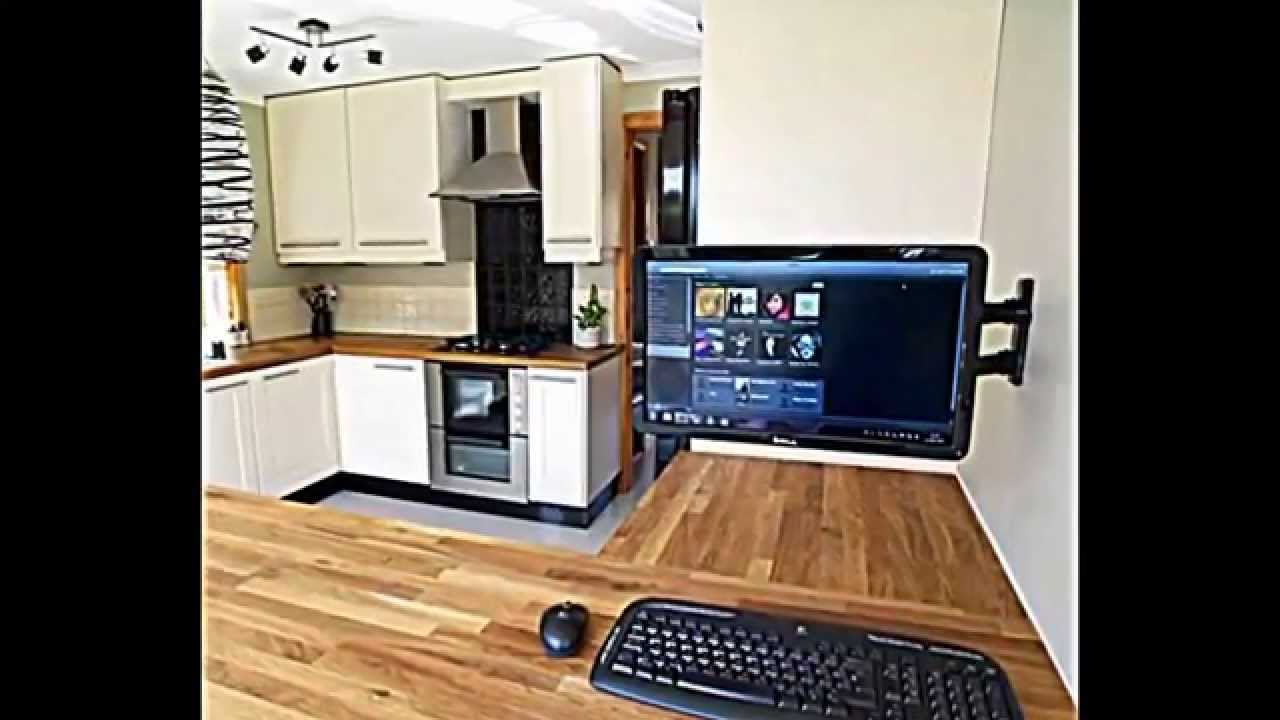 computer in der k che einrichten praktische gestaltungsidee youtube. Black Bedroom Furniture Sets. Home Design Ideas