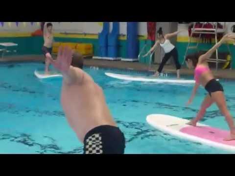 Paddleboard Yoga with DFW Surf and Yoga Digest's Jenn Bodnar