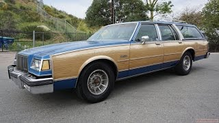 88 Buick Electra Estate Station Wagon Full Video Car Review 1 Owner B Body