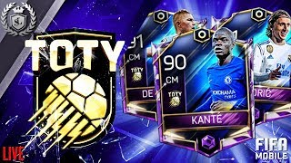 FIFA Mobile (LIVE) | TOTY DAY 4 | DISCUSSION ABOUT LEAKS, TOTY TOURNAMENT, ICONS