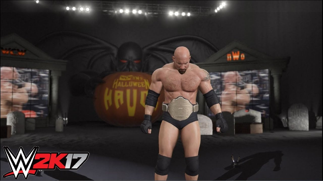 WWE 2k17 - Bill Goldberg vs. Diamond Dallas Page: WCW Halloween ...