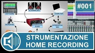 Strumentazione per Home Recording: software, computer e scheda…