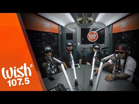 """Death Threat Performs """"Private Diane"""" LIVE On Wish 107.5 Bus"""