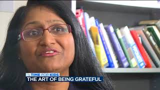 The art of gratitude: Doctors say giving thanks improves your health