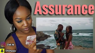 Davido - Assurance (Official Video) REACTION   Chinyere I.