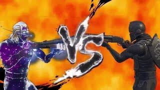 GALAXY SKIN VS BLACK KNIGHT FORTNITE (MORTAL KOMBAT) FUNNY MOMENTS & CINEMATIC