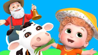 Old Macdonald | Farm Animals Song | Animal Sounds Song |  Nursery Rhymes & Kids Songs
