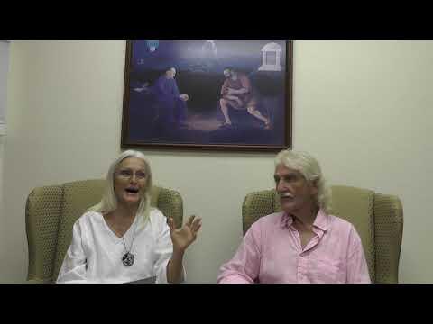 Dr Morse and Linda Beauregard