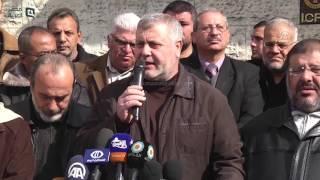 مصر العربية | خيمة تضامنية في غزة مع المعتقلين داخل السجون الإسرائيلية