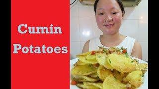 Chinese Cumin Potatoes
