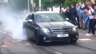 Cars And Coffee | NL | Dordrecht 2017 | SV, AMG GANG, BURNOUTS!!
