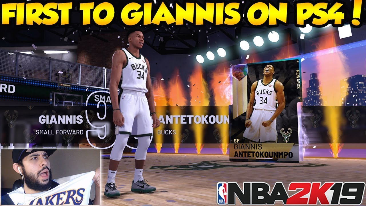 GALAXY OPAL GIANNIS ANTETOKOUNMPO IS FINALLY OURS IN NBA