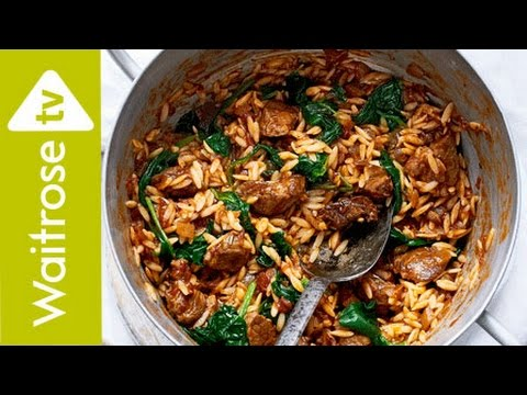 Greek Lamb And Orzo Stew (Youvetsi) | Waitrose