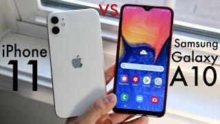 Samsung Galaxy A10 vs iPhone 11 in-depth comparison