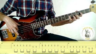 James Brown - I got you (I feel good) (Bass cover with Tabs)