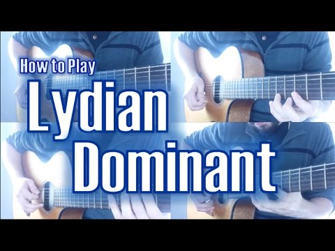 Lydian Dominant Scale | How to Play Outside Jazz Rock Fusion #3