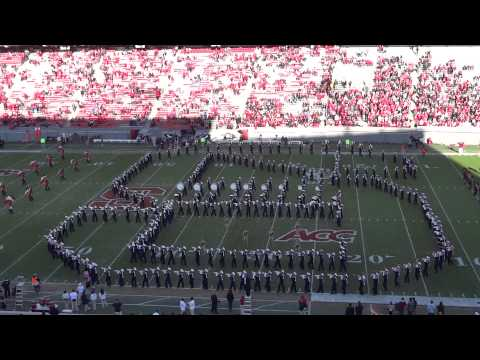 NC State Marching Band Pregame Show 11-24-12