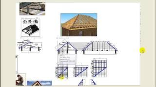 Прочность вальмовой четырехскатной крыши. Расчет и моделирование.