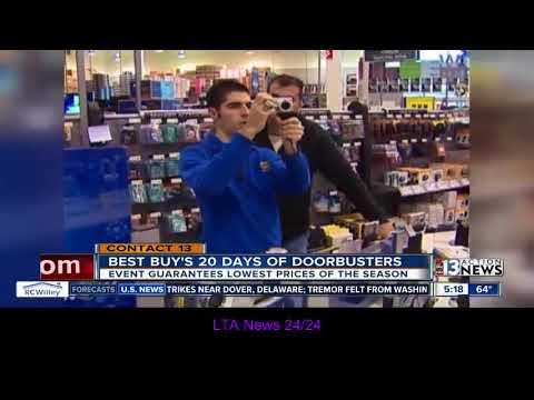 Best Buy offering 20 day of doorbusters in December