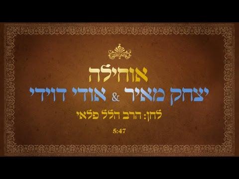 אוחילה לאל // יצחק מאיר מארח את אודי דוידי