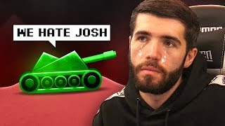 THIS GAME HATES JOSH....
