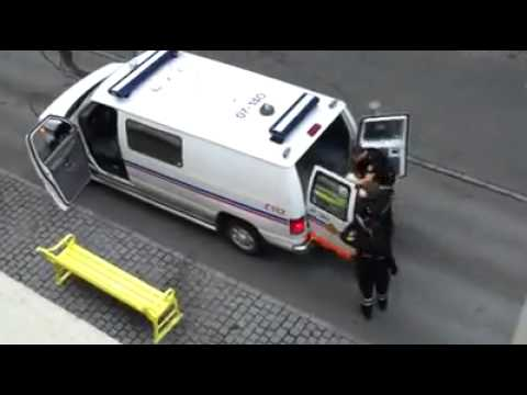 Police in iceland Brutal abuse of authority