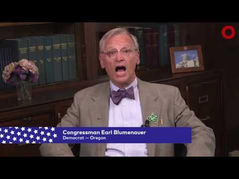 Congressman Earl Blumenauer (D-OR)   Global Citizen Festival NYC 2017