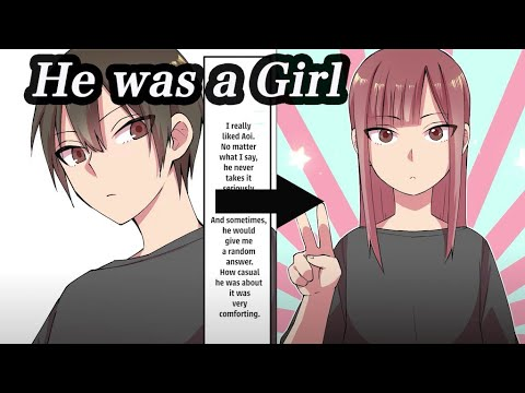 【Manga】Tired of Girls, He Asked His Friend to Pretend to be His Girlfriend, But She Was a Girl...