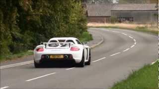 Porsche Carrera GT DRIFT + acceleration sound