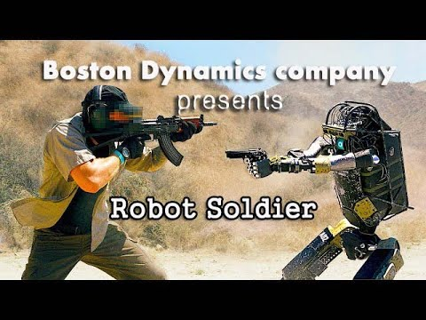 New Robot Soldier by Boston Dynamics|Parody