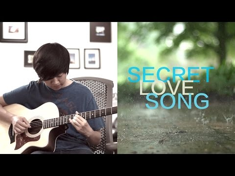 Secret Love Song - Little Mix ft. Jason Derulo (Fingerstyle Guitar Cover by Harry Cho)