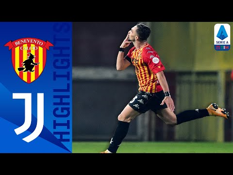 Benevento Juventus Goals And Highlights