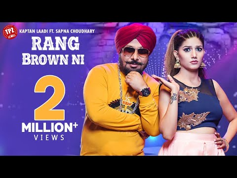 rang-brown-ni-|-kaptan-laadi-featuring-sapna-choudhary-|-rdk-(official-video)-tpz-records