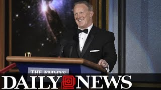 Julia Louis Dreyfus was not a fan of Sean Spicer's Emmys cameo