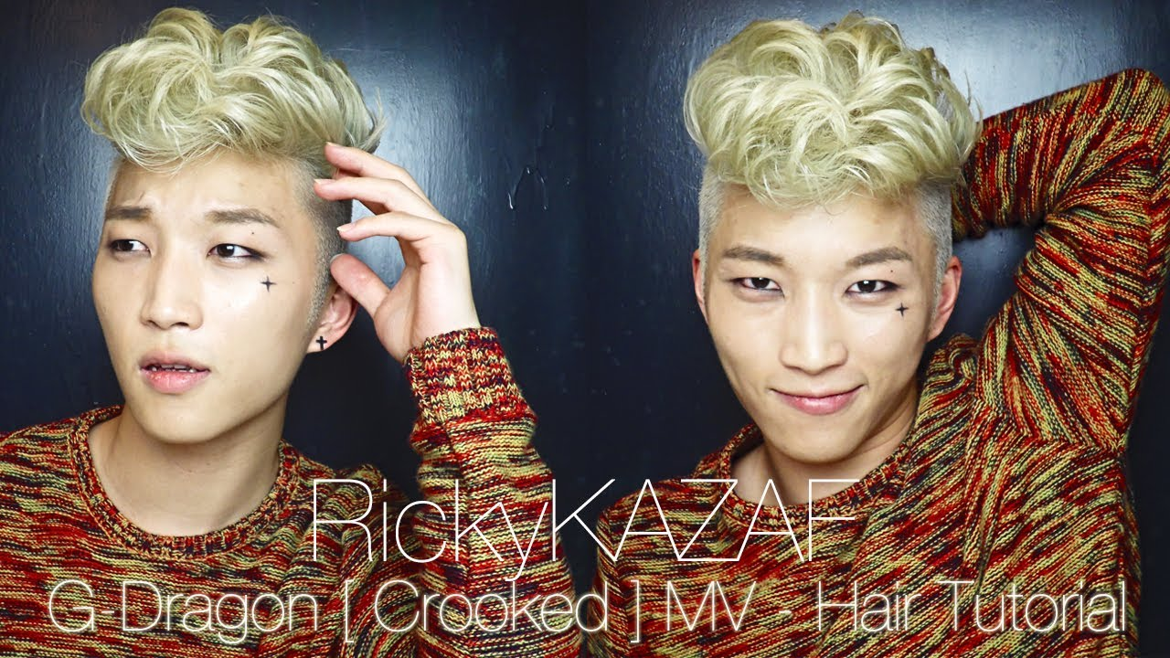 G dragon hair tutorial