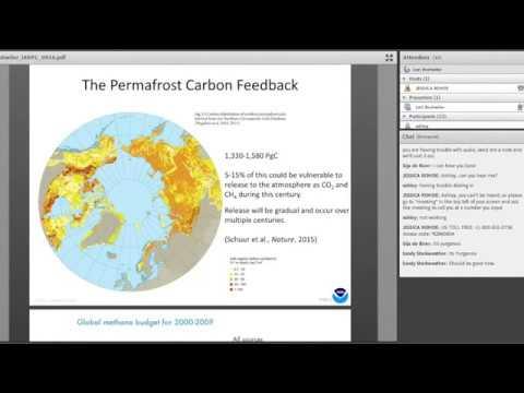 The Arctic Methane Budget: Dr Lori Bruhwiler (NOAA) (September 2016)