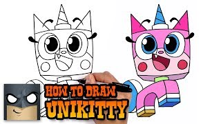 How to Draw Unikitty   Art Tutorial